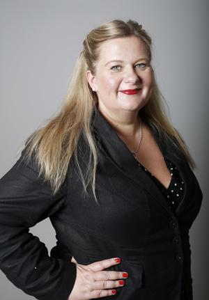Anna Gullberg, chefredaktör Gefle Dagblad.