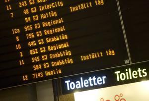 SJ:s nya planer gör restiden mellan Östersund och Stockholm 40 minuter längre.