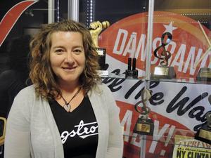 Marit Norin är ordförande i Älvdalens biovänner och är glad över att verksamheten funkar.