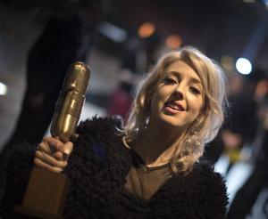 Veronica Maggio fick Guldmicken på lördagskvällen.