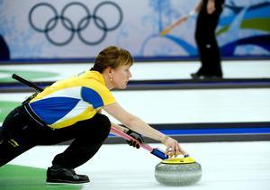Cathrine Lindahl under OS i Vancouver 2010.