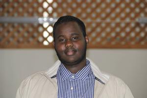 Rague Ali Youssouf är talesperson för Gävlemoskén.