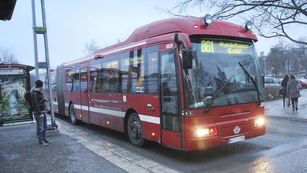 Busstrejken fryst bussarna borjar rulla