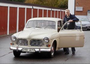 Åke Danielsson med sin unika Amazon från 1968.– Jag säljer bara till rätt köpare, säger han.