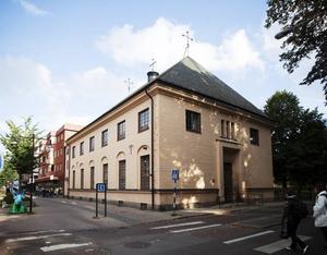 S:t Ansgars hus med samlingslokaler.