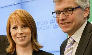 Annie Lööf och Per Åsling.