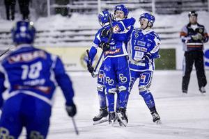 Jocke Hedqvist gjorde fem mål i matchen.