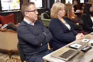 Lars Lisspers, skolchef, lyssnade under måndagsmötet.