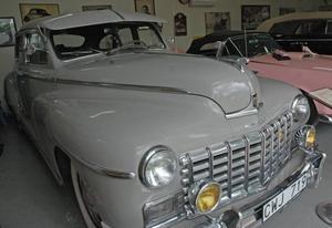 Orört originalskick. En Dodge Custom från 1947, den har totalt tre ägare.