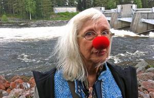 Suzanne Osten tog emot Dagermanpriset 2015 på Laxön.