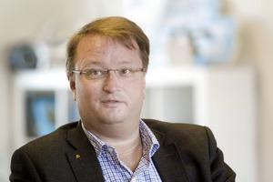Gävlepolitikern Lars Beckman (M).