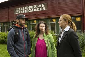 Björn Gidlund, Åsa Paletun och Maria Schärdin beklagar alla att inte skolavslutningen kan hållas i kyrkan så att föräldrar får vara med.