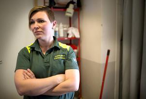 I slutet av förra veckan lämnade Caroline Forslund, sjuksköterska på ambulansen i Ljusdal, in sin avskedsansökan.