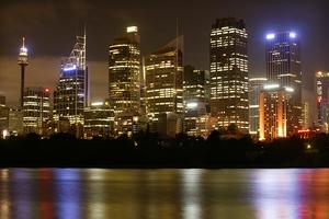 Sydney före ...Foto: James Alcock/WWF Australien