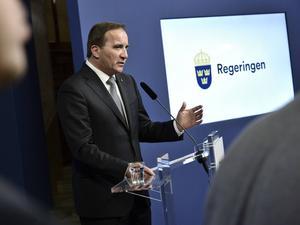 Statsminister Stefan Löfven (S) vill ge polisen ökade befogenheter.