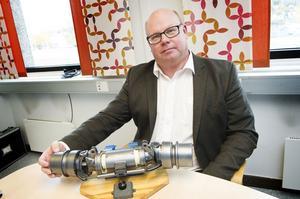 Håkan Näslund, chef för marknadsföring och försäljning för civila produkter, ser mycket positivt på den nyaste ordern.