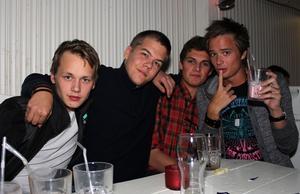 Konrad. Simon, Emil, Peter och Anders