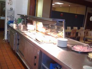 Så här ser det ut i köket.