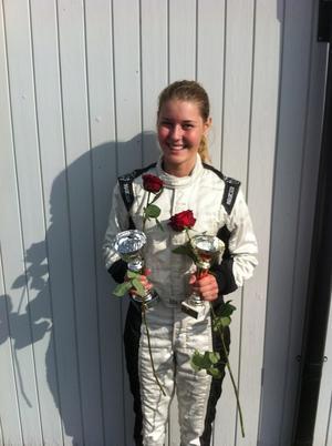 Ida Granegärd, SMK Hedemora, har fått chansen att köra säsongens två sista deltävlingar i JTCC.