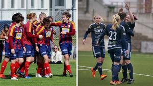 Vi får se om de båda lagen firar efter att ha spelat sina respektive matcher i Svenska cupen.