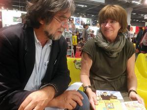 Jens Ahlbom och Annette Wilhelmsson har gjort en tredje konstbok för barn, Monsiur Magritte.