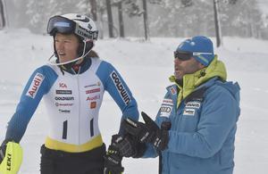 Anna Swenn Larsson tillsammans med Christian Thoma.