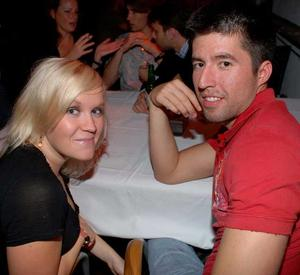 Blue Moon Bar. Ruusa och Andrés
