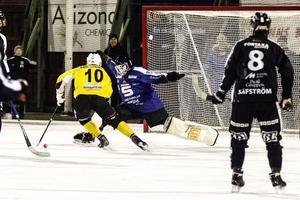 Martin Söderberg ordnade fram en straff i slutminuterna i den senaste segermatchen mot Sandviken.
