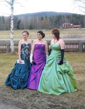 Sofia Olander, Frida Sundin och Rebecca Kivi, tycker att det känns lite läskigt att lämna tryggheten på Nytorp bakom sig.