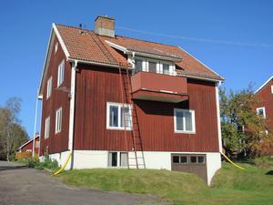 1940-talsvilla i souterräng. Dala-Floda