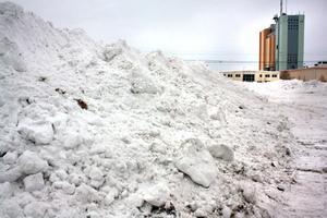 Snöhögarna intill Viaskogen är snabbt växande.