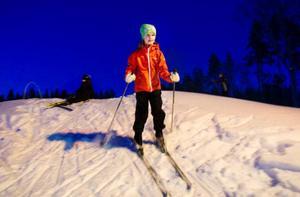 """""""Det roligaste är när vi får åka i skogen och att vi leker mycket, säger Susanna Holmberg.Foto: Ulrika Andersson"""