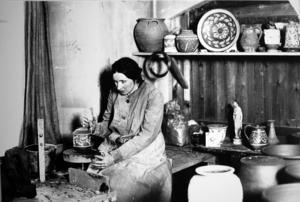 Eva Jancke Björk, formgivare vid Bo Fajans 1925–1956.