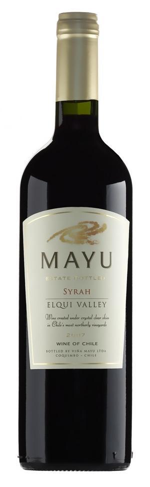 Höstvin. Ett perfekt vin att njuta till höstens mer mustiga maträtter är chilenska Mayu Syrah, 69 kr. Vinet bjuder på en fyllig smak av mörka bär, choklad och rökta charkuterier. Klockrent fynd för priset.