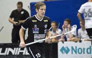 Alexander Jaska, här i IBK Köpings tröja, jagar en division 2-plats med Köpings IS.
