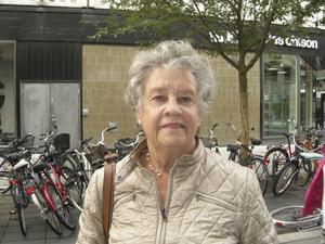 Solveig Karlsson, 75 år, pensionär, Lillåudden: – Det beror på vad det är för hjälp. Jag har lång erfarenhet från lasarettet och kan tänka mig att jobba som volontär.