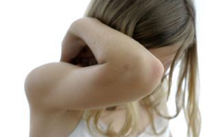 Barns rättigheter. Barns skildringar av våld i hemmet tenderar, enligt en en nyutkommen doktorsavhandling, att trivialiseras.foto: scanpix