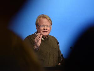 Försvarsminister Peter Hultqvist talar vid Folk och Försvars rikskonferens i Sälen på måndagen.