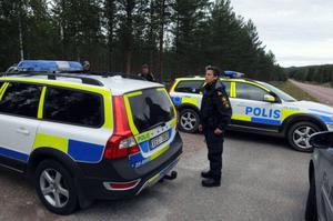 Några veckor efter att mannen försvann spårlöst genomfördes en större sökinsats av polisen i området.