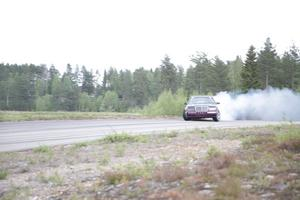 Dieselmotorn ger svartrök.