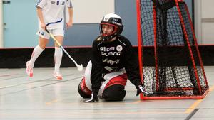 Lovisa Hedin lämnar Per-Ols för riksinnebandygymnasiet i Umeå.