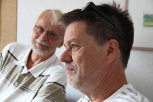 Professor Bo von Scheele och rektor Erik Björk vill samarbeta för att hitta nya metoder som hjälper barn med adhd.