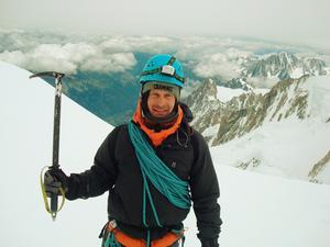 Mattias Vallin ska bestiga Ismoil Somoni Peak, som är forna Sovjetunionens högsta berg och som ligger i Tadzjikistan. FOTO:PRIVAT