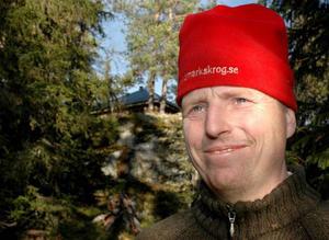 Patrik Danielsson leder Lag Åredalen i Skolmats-SM.