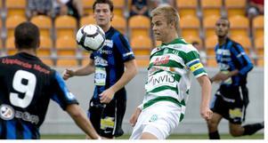 Tackade nej. VSK Fotboll har gett Oscar Pehrsson ett nytt kontraktsförslag – men mittbacken har sagt nej tack.Foto: Arkiv