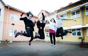 Eleverna i Kilafors skola har den bästa psykiska hälsan av alla elever i Bollnäs kommun. Något som Sam Jonsson, Elin Forsberg, Matilda Arvidsson och Linus Lund Jonsson kan skriva under på.