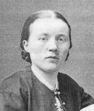 Maria Fresk, gift med handlare Robert Fresk, har gett namn åt Marielund i Östersund.