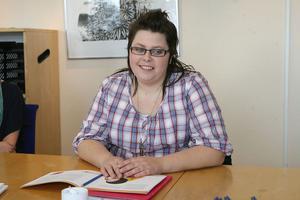 – Jag vill ha ett jobb och en fast plattform att stå på, säger Kristine Persson.