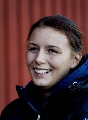 Hoppryttaren Elin Uppling, 25 år, har startat företaget Carolus.