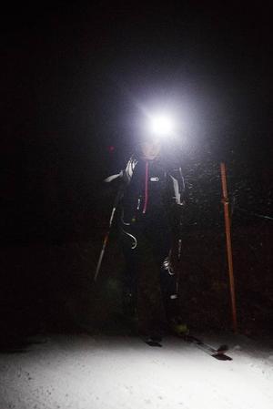 På lördag är det skidalpinismtävling i kvällsmörkret när Vaeride och SM-individuellt avgörs.